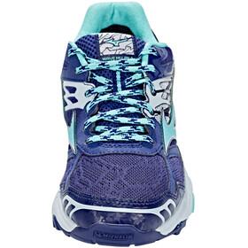 Mizuno Wave Mujin 4 G-TX Shoes Women Patriot Blue/Turquoise/Pearl Blue